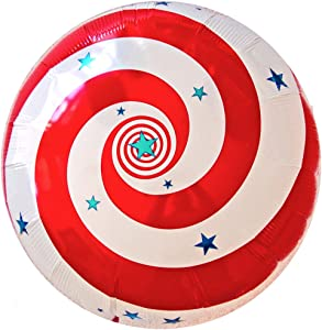 Super Saucer Anti-Gravity Hovering Floating Flying Saucer SPIRAL GALAXY 20 inch Toy Pet Balloon Party Favor