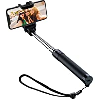 Selfie Stick, Mpow 270° Adjustable Bluetooth Selfie Stick Support Video Record Snap Chat Video for iPhone XS/XS Max/XR/X/8/8 Plus/7/7 Plus/6/6s/SE, Samsung Galaxy S9/S8/S7 Google Pixel and All Devices
