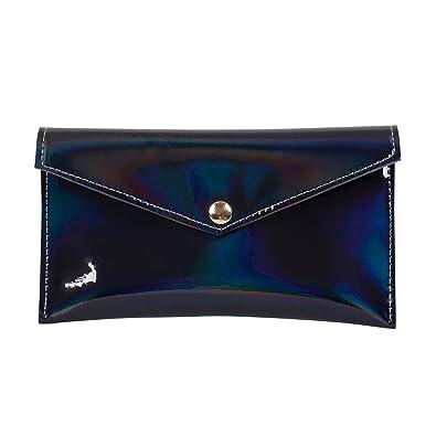 e1147a171eee Zarapack Women's Hologram Anti Wrinkle Pu Leather Clutch Handbag ...