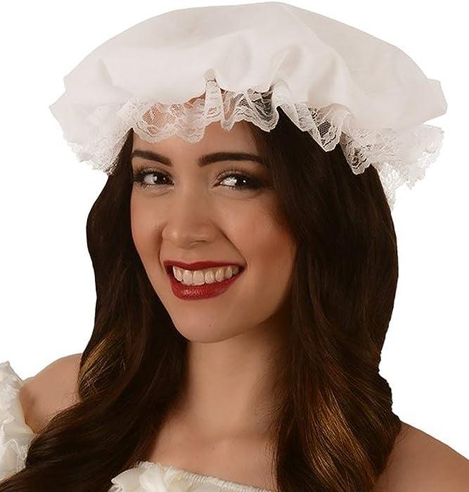 Amazon.com  Kangaroo Women s White Colonial Mob Hat 2c54cf37c0d