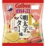 カルビー ポテトチップス 明太子バター味 50gX12袋