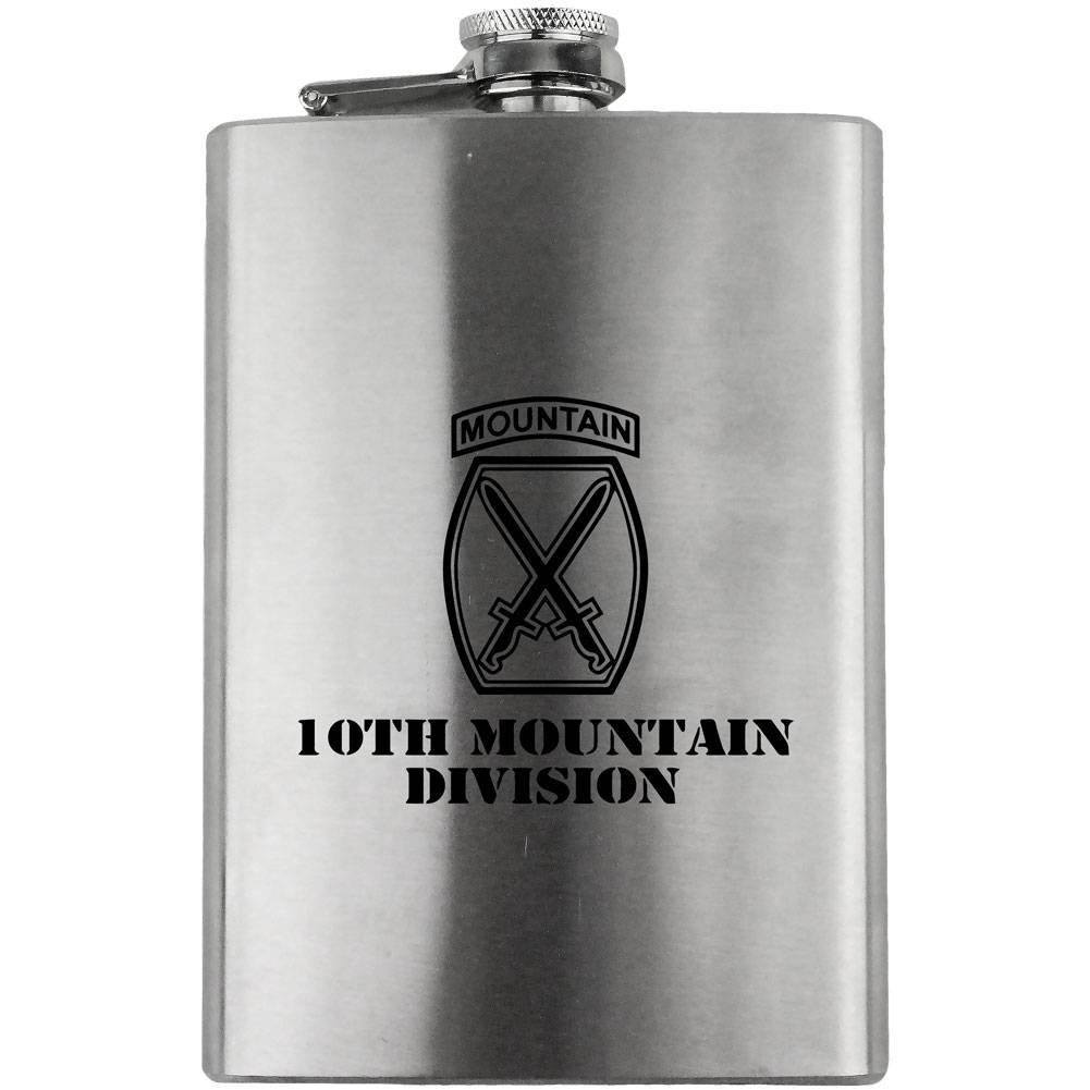 ★決算特価商品★ Army B00ZYTV970 10th Mountain Army Division Subdued 8オンス Mountain。フラスコ B00ZYTV970, ビーエックス オンラインショップ:c64e5710 --- venuscreatives.in