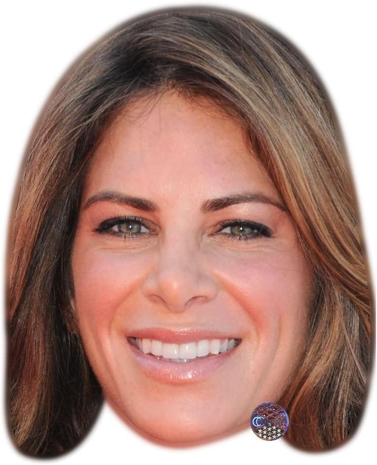 Amazon Com Jillian Michaels Celebrity Mask Flat Card Face Fancy