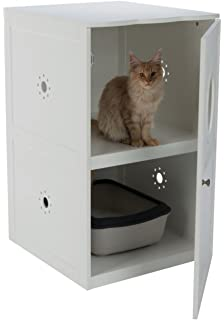 meow town mdf litter box. Trixie Pet Products 40240 Wooden House Meow Town Mdf Litter Box T
