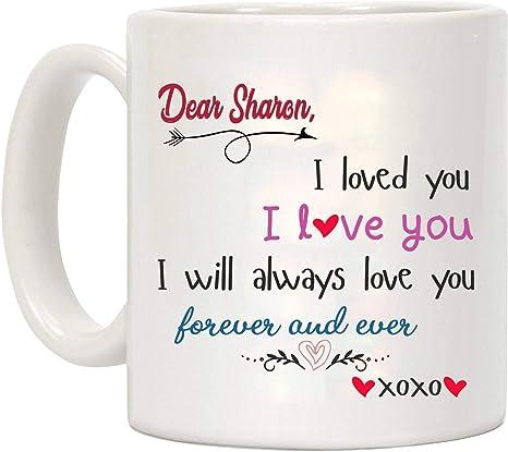 I LOVE COEUR Sharon Mug