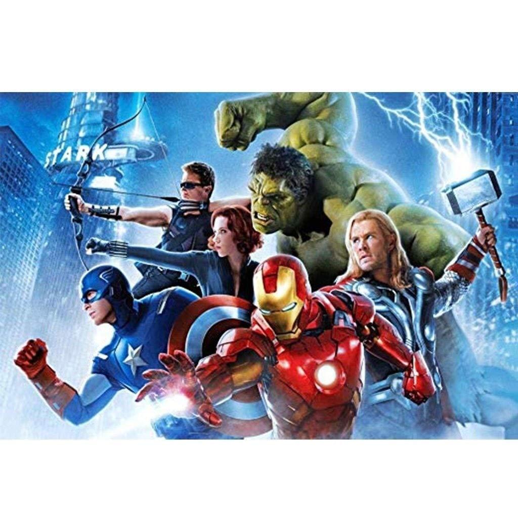 LXCS Madera Vengadores Cartel Puzzle, Capitán América ...