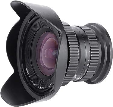Topiky Lente de cámara, 120 ° 15 mm F4.0 Enfoque Manual Marco ...