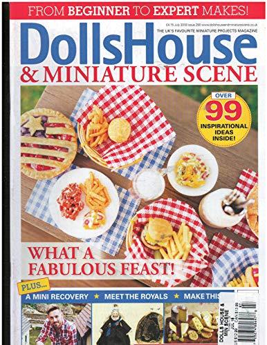 DollHouse & Miniture Scene Magazine July -
