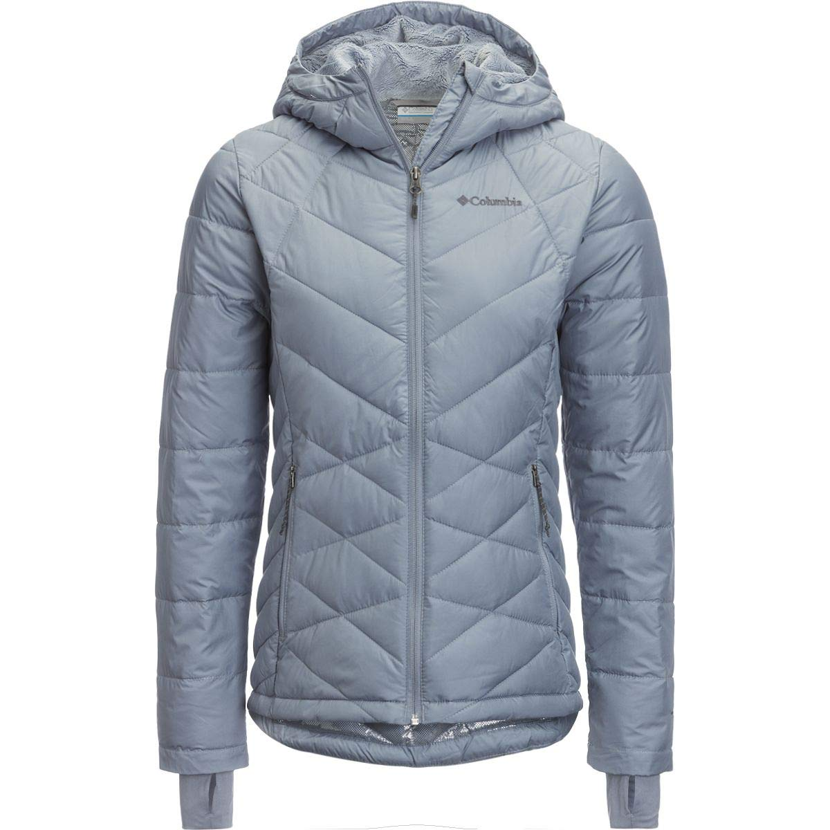 Columbia Women's Plus Size Heavenly HDD Jacket, Tradewinds Grey, 3X by Columbia