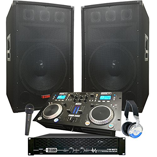 Best Buy! Complete Dj System - 2100 WATTS - Connect your Laptop, iPod, USB, MP3's or Cd's! 12 Speak...