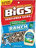 BIGS Hidden Valley Ranch Sunflower Seeds, 5.35-ounce Bags (Pack of 3)