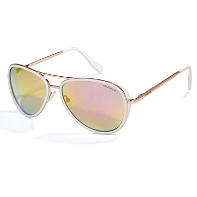 Amazon.com: Ashley-OU 2019 Coating Sun Glasses Metal Frame ...