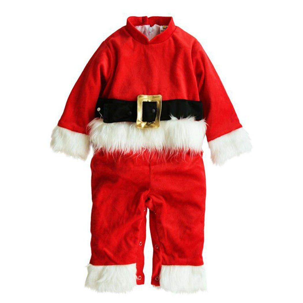 Dehutin Bebés Navidades Lindo Monos Papá Noel Ciervo y Monigote de nieve trajes Para Bebés