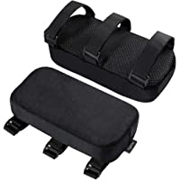 EXCEART 2pcs Chair Armrest Cushions Memory Elbow Pillows for Home Office Chair Gaming Chair Pressure Relief Universal…