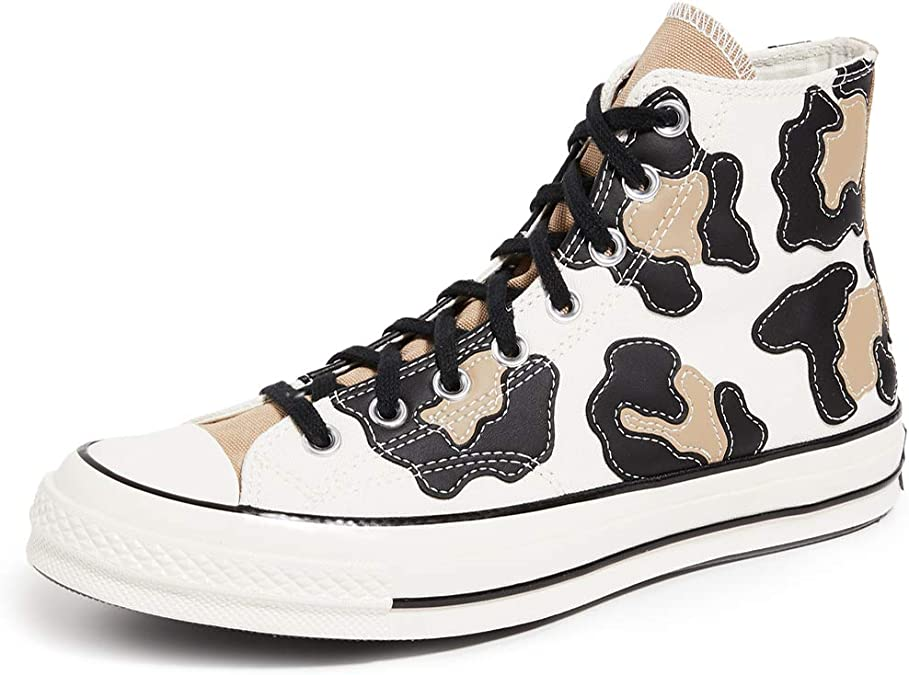 Pertenecer a radical Perforación  Amazon.com | Converse Men's Chuck 70 Archive Leopard High Top Sneakers |  Fashion Sneakers