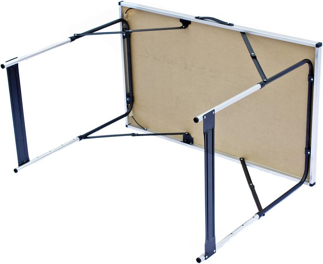 Goods /& Gadgets Table multifonction pliante Table polyvalente Table de camping Table de march/é Table /à tapisser Table dappoint