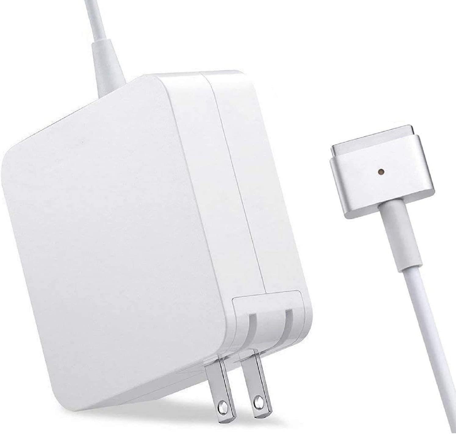 Mac Book Pro Charger, AC 60W 2 T-tip Power Adapter Charger Compatible with MacBook Charger/Mac Book Air( After Late 2012)
