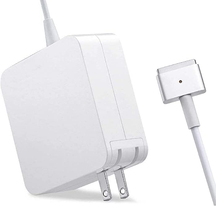 Mac Book Pro Charger, 60W 2 T-tip Power Adapter Charger Compatible with MacBook Charger/Mac Book Air( After Late 2012)