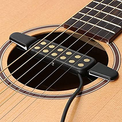 Amazon Com Guitar Pickup 12 Hole Sound Pickup For Acoustic Electric