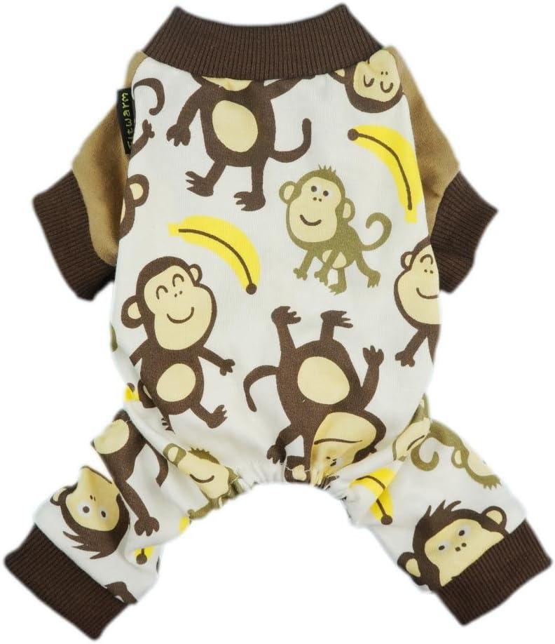 Fitwarm Soft Cotton Monkey Dog Pajamas review