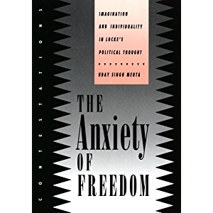 The Anxiety of Freedom: Imagination and Individuality in Locke's Political Thought