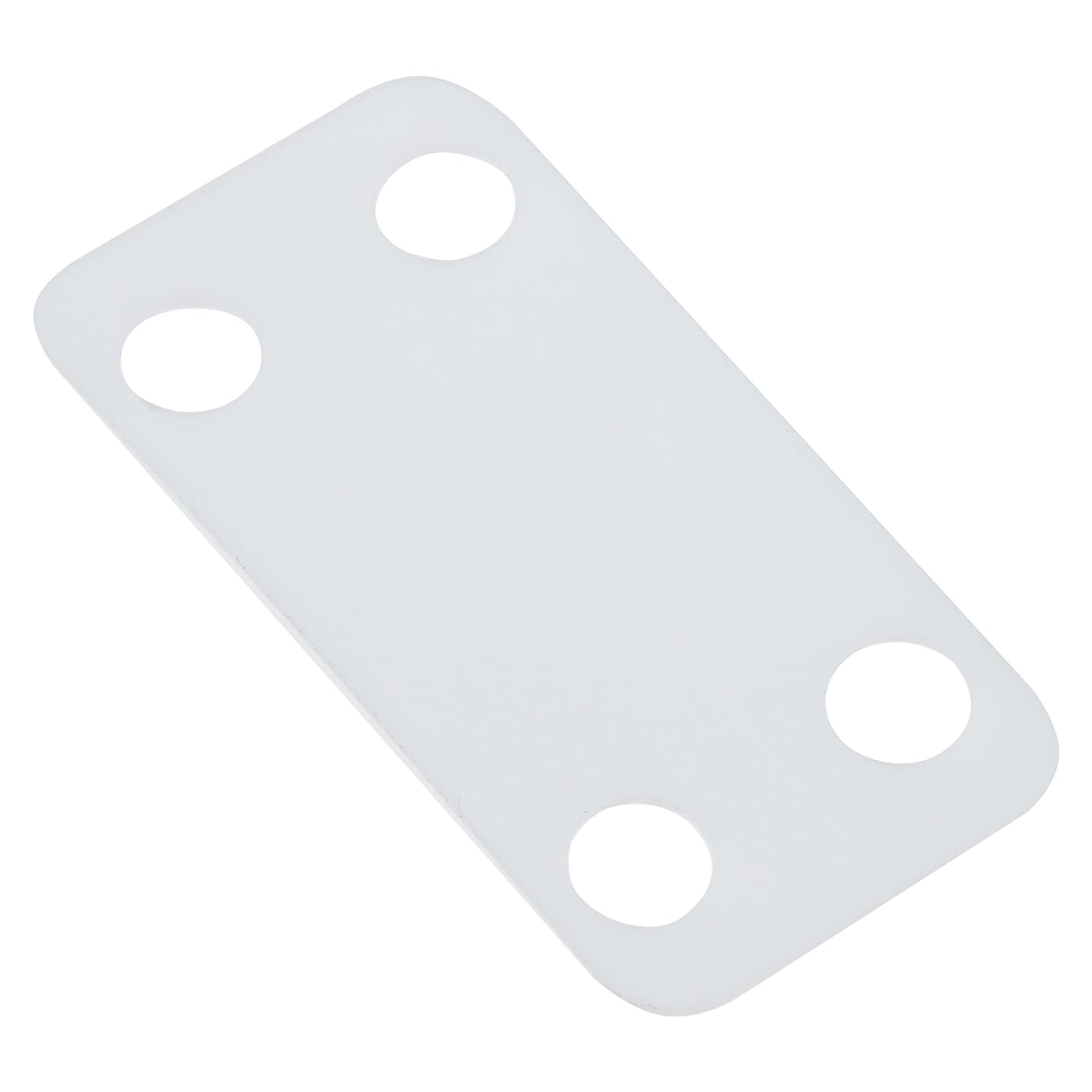 Panduit MP250-C Harness Identification Marker Plate, Nylon 6.6, 2.50 by 0.75-Inch, White (100-Pack)