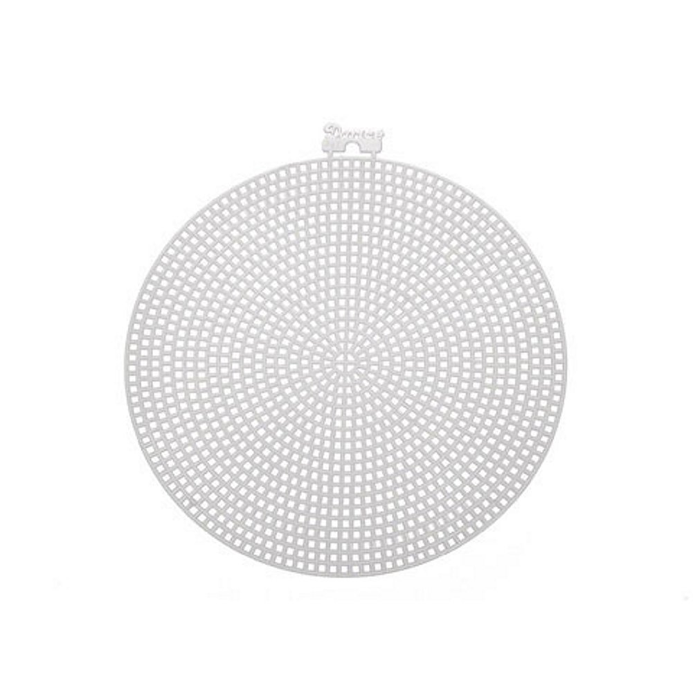 Circle-Shaped Plastic Canvas - 4 1/4in. (8 Pieces/Pack) Darice