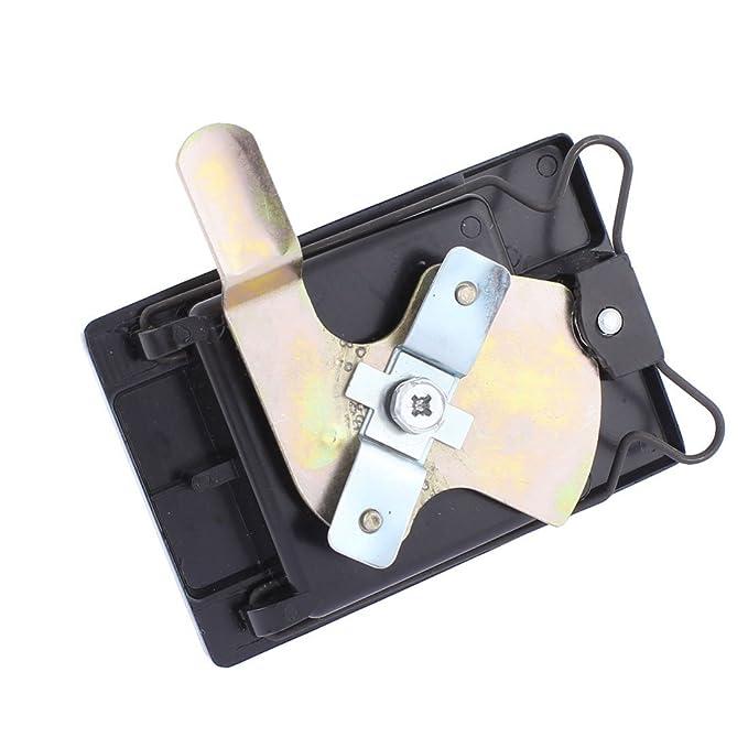 eDealMax a15112300ux1263 cerradura de puerta de 2 puertas Armario Armario de metal clave cerradura de la entrada del armario de hardware Negro - - Amazon. ...