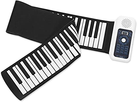 Piano Travelh 128 Rhyth con 128 Teclas de ritmos enrollables ...