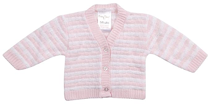 ce19a94f9fd5 BABYTOWN Baby Unisex Square Knit Button Cardigan Blue Pink White ...