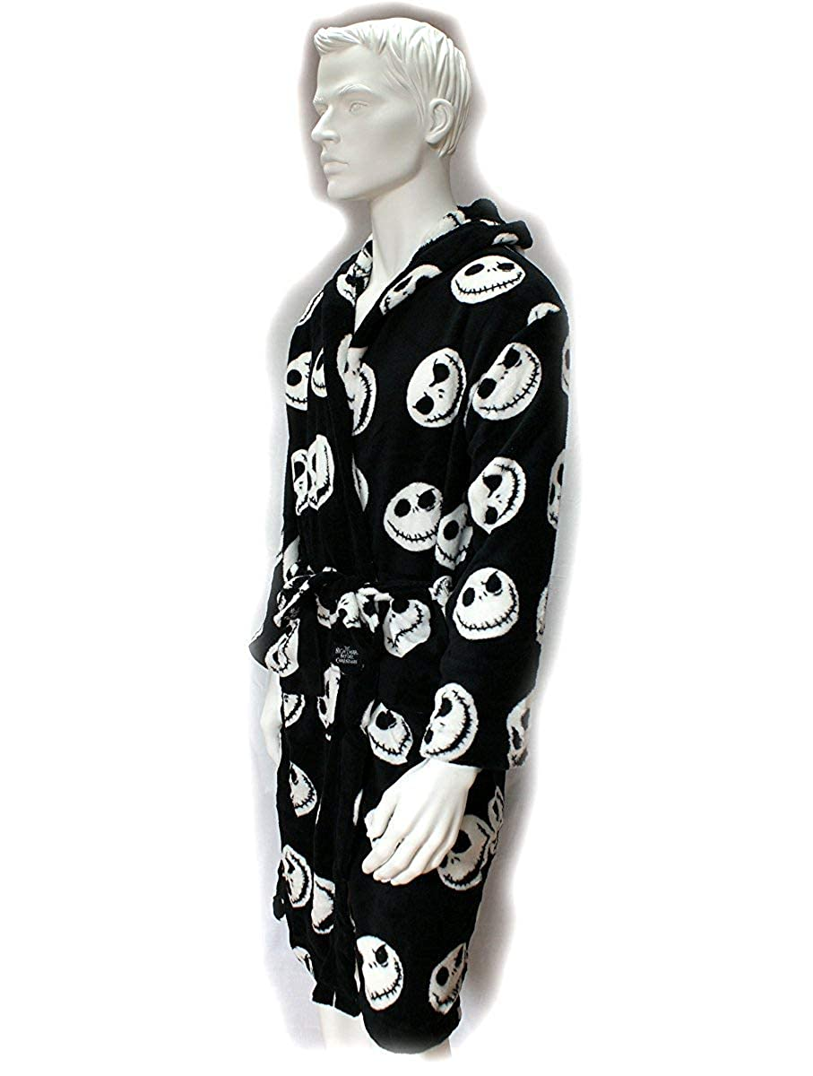 Amazon.com: Disney Nightmare Before Christmas Bathrobe Officially ...
