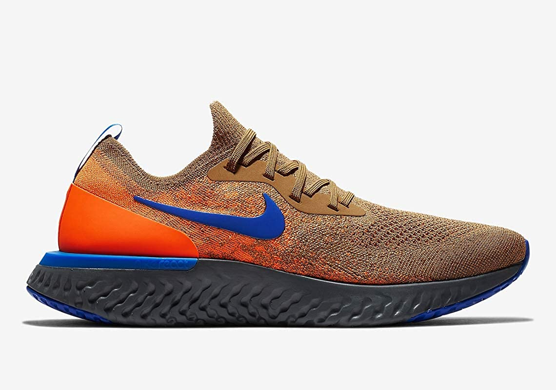 Amazon.com | Nike Epic React Flyknit Mens Av8068-200 Size 14 ...