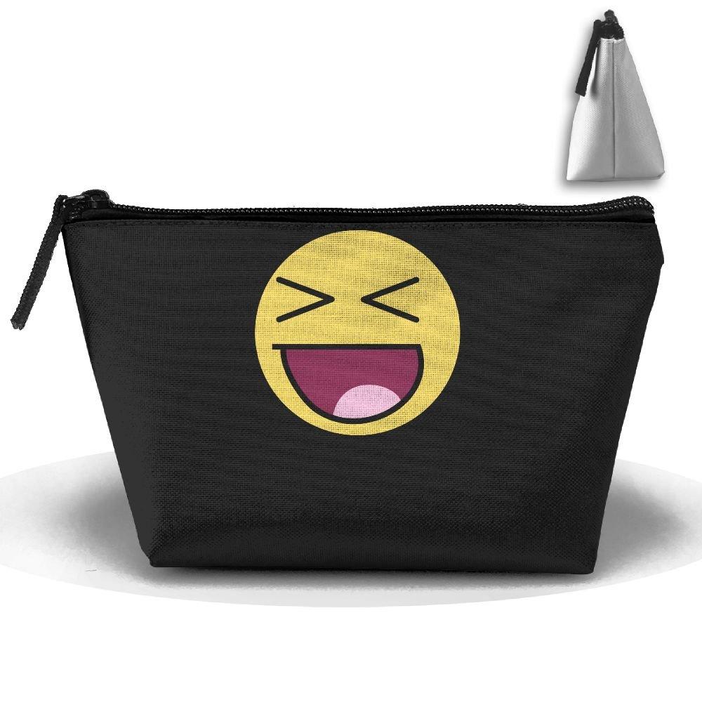 d7d477b292 Smiley Fashion Travel Bag Trapezoid durable service ...