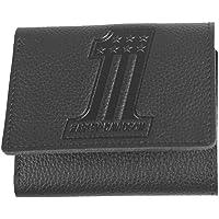 Harley-Davidson Men's Embossed #1 Logo Leather Tri-Fold Wallet XML3845-BLACK