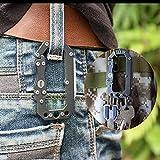 Loowoko Multitool Carabiner Knife Tactical Keychain
