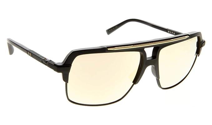 b591c3b846a Amazon.com  Dita Mach-Four DRX-2070-B-BLK-61-Z Sunglasses Matte ...