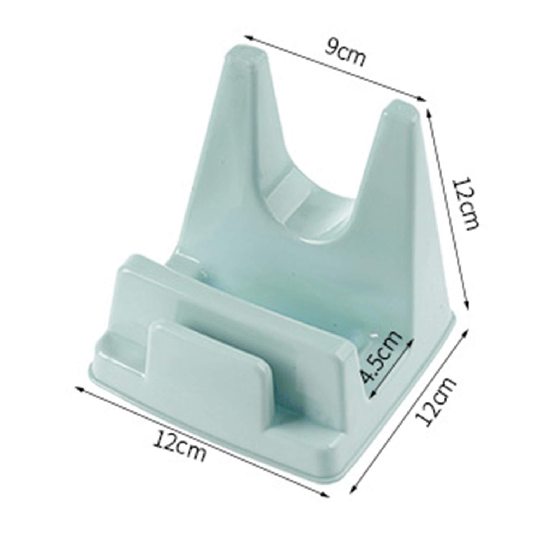 Multifunctional Household Kitchen Pot Pan Cover Lid Shell Stand Holder Anti-Slip PP Chopping Block Storage Rack Tool