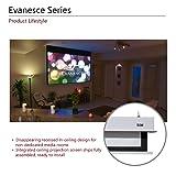 """Elite Screens Evanesce, 106"""" 16:9, Recessed"""