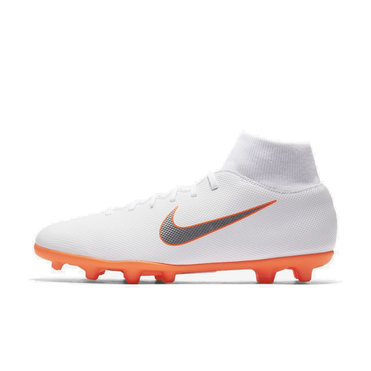 new style dc5a5 d4a57 Amazon.com | NIKE Mercurial Superfly 6 Club MG (White/Total ...