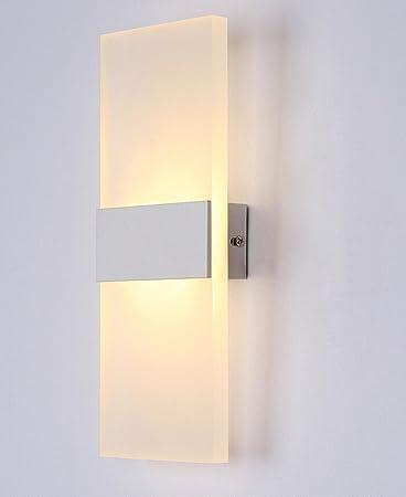 Highdas 12W LED Wandleuchte Innen Up Und Down Wandleuchten Treppe Lichter Fr Wohnzimmer Oder Schlafzimmer