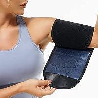 ARTOCT Arm Trimmers voor Vrouwen,Zweet Arm Riem Protector Sauna Sweat Bands Verstelbare Arm Trainer Toner Mouwen voor…