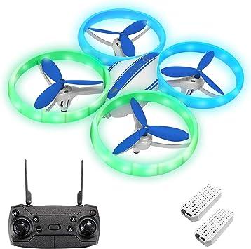 Opinión sobre EACHINE E65H Mini Drone para Principiantes y Niños Función Flotante Modo sin Cabeza Rotación de 360° Despegue / Aterrizaje con un Botón, Velocidad Ajustable Verde