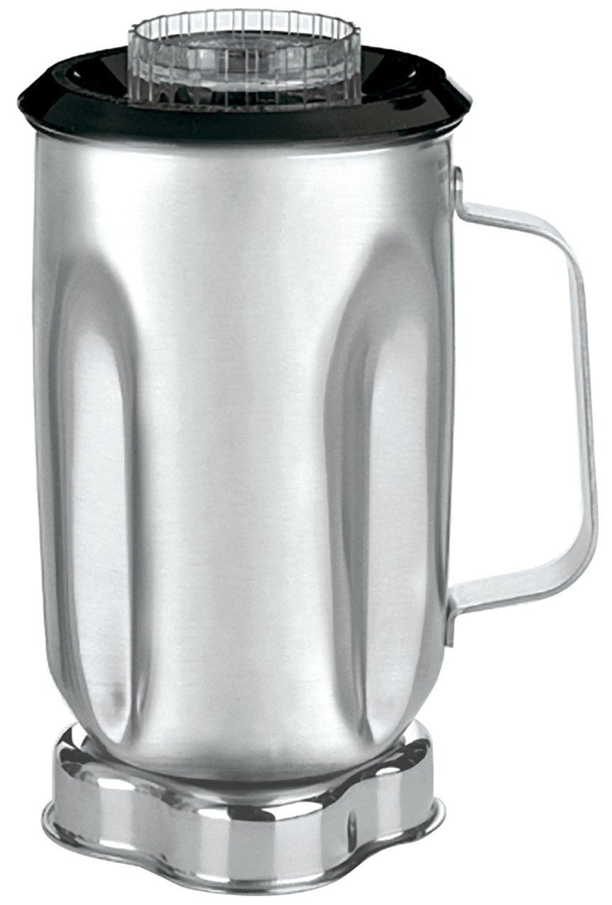 Waring Commercial CAC33 Stainless Steel Container with Blade Assembly and Lid, 32-Ounce