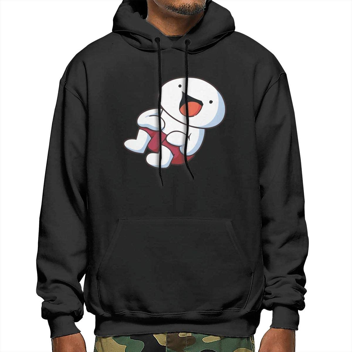 AlbertCox TheOdd1sOut Mens Hoodie Casual Long Sleeve Pullover Hooded Sweater