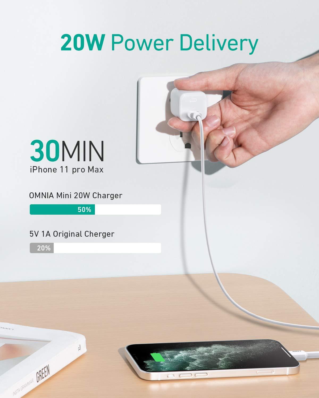 Mua AUKEY Omnia Mini iPhone Fast Charger, 20W USB C ...