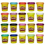 Hasbro Play-Doh Super Colour, Pack of 20 - Multi-Coloured