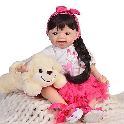 Amazon.com: Muñecas de bebé recién nacido de 22.0 in de ...