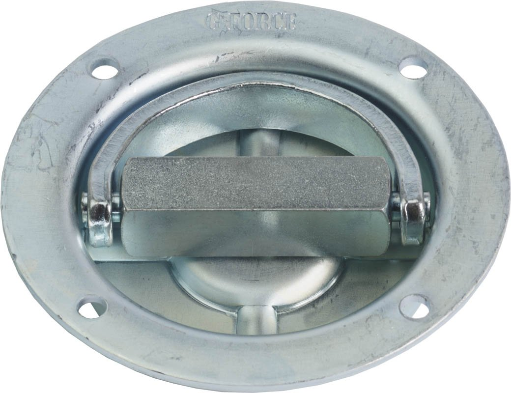 G-Force D1113 Heavy Duty Recessed Rotating D-Ring