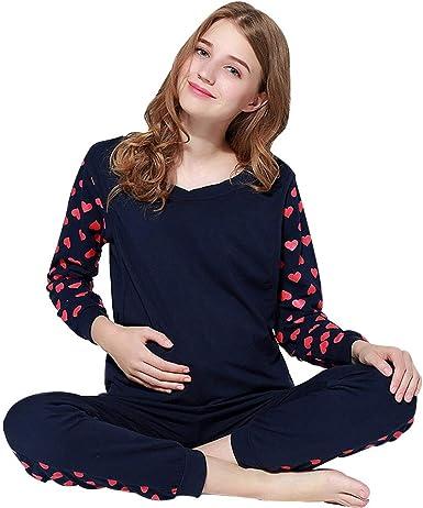 YNLRY – Chaqueta de Punto para Embarazadas, de algodón, Manga ...