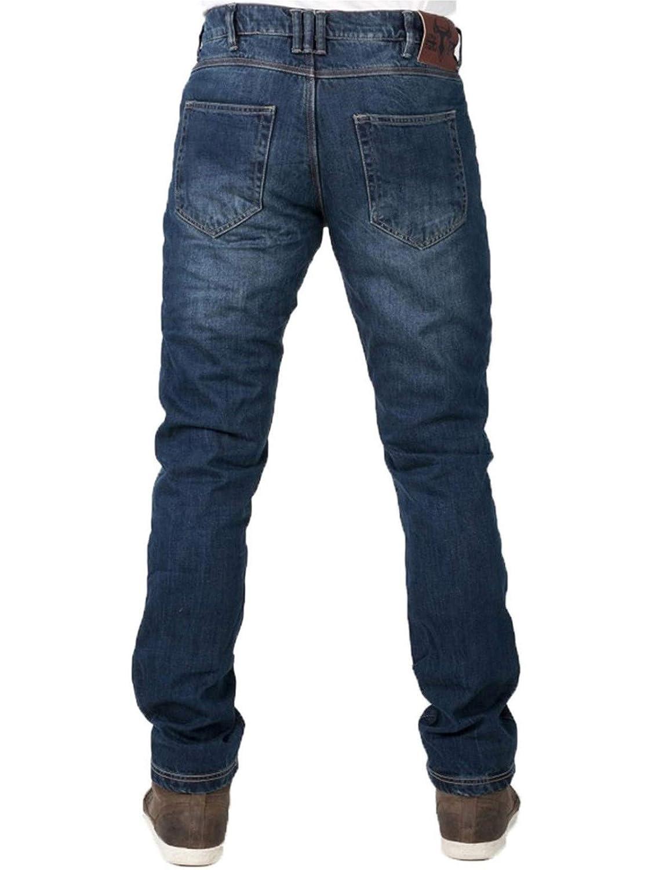 Regular Motorcycle Jeans Bull-It Blue Vintage SP120 SR6 Slim